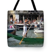 After The Race Tote Bag