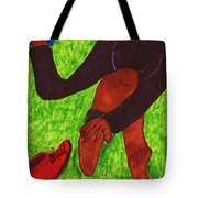 After The Race Ouch Tote Bag