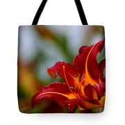 After The Rain Came The Flowers  Tote Bag