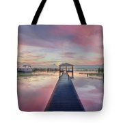After The Rain Sunrise Painting Tote Bag