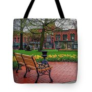 After The Spring Rain Tote Bag