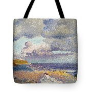After The Storm The Bather Tote Bag