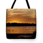 After The Sun Went Below The Horizon Tote Bag