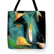 After The War Abstract Tote Bag
