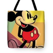 After Warhol Mickey Tote Bag by Gary Grayson