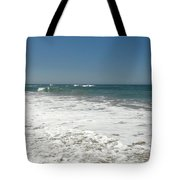 After Wave Tote Bag by Atul Daimari