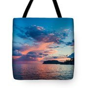 Afterglow On The Lakeshore Tote Bag