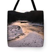 Afterglow On The Pemigewassett Tote Bag