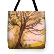 Afternoon Alone  Tote Bag