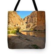 Afternoon At Boquillas Canyon Tote Bag