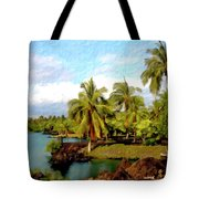 Afternoon At Mauna Lani Hawaii Tote Bag