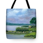 Afternoon At Pilgrim Tote Bag