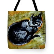 Afternoon Cat Tote Bag