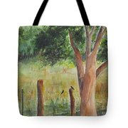 Afternoon Chat Tote Bag