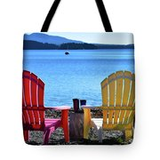 Afternoon Coffee Tote Bag