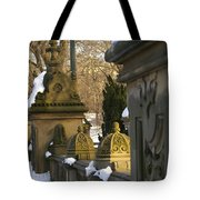 Afternoon In Central Park Tote Bag