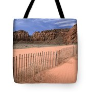 Afternoon In Snow Canyon Tote Bag