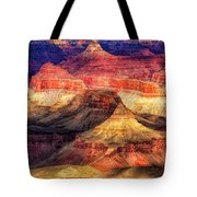 Afternoon Light At Mather Point, Grand Canyon Tote Bag