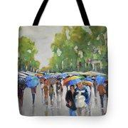 Afternoon Rain Tote Bag