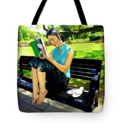 Afternoon Read Tote Bag