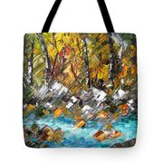 Afternoon Resting Place Tote Bag