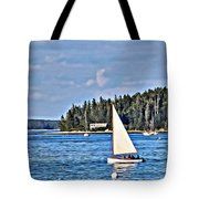 Afternoon Sail Tote Bag