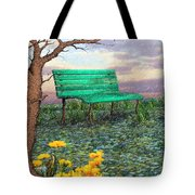 Afternoon Snooze Tote Bag