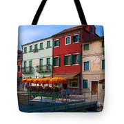 Afternoon Stroll In Murano  Tote Bag