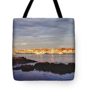 Afternoon Sun On Marblehead Neck Tote Bag