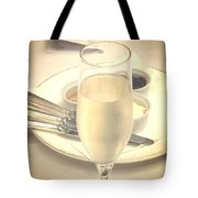 Afternoon Tea With Champagne Tote Bag