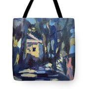 Afternoon Trees Tote Bag