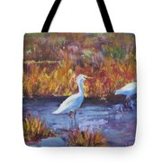 Afternoon Waders Tote Bag