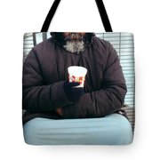 Against The Elements Tote Bag