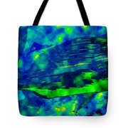 Against The Gulf Stream Tote Bag