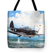 Against The Odds Tote Bag by Marc Stewart