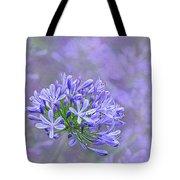 Agapantha Lilac Pastel By Kaye Menner Tote Bag