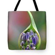 Agapanthus Bud Tote Bag