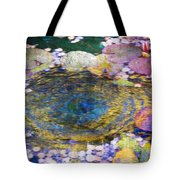 Agape Gardens Autumn Waterfeature II Tote Bag