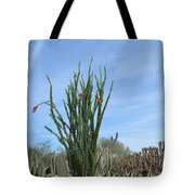 Agave And Cactus Tote Bag