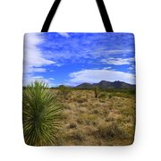 Agave And The Mountains 3 Tote Bag