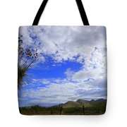Agave And The Mountains Tote Bag