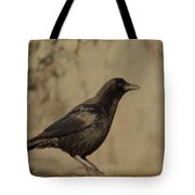 Age Old Crow  Tote Bag