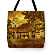 Aged Rustic Beauty Tote Bag
