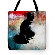 Aged Silhouette Tote Bag