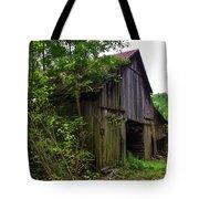 Aged Wood Barn Tote Bag