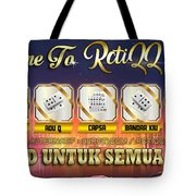 Agen Poker Tote Bag