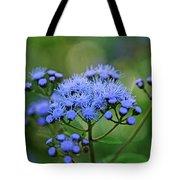 Ageratum Blue Tote Bag