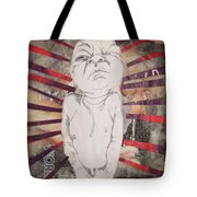 Aggravated Baby Tote Bag