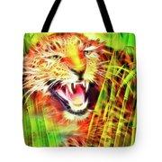 Aggressivity Tote Bag