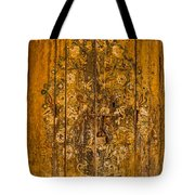 Aging Decorative Door Tote Bag